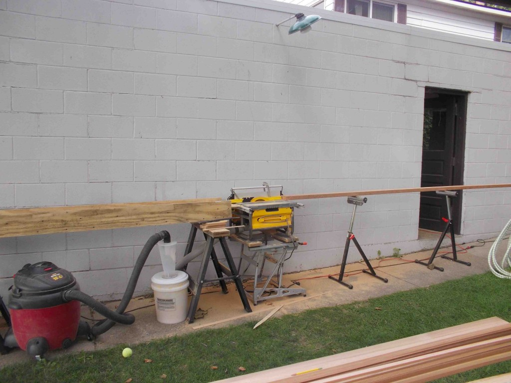 table saw layout