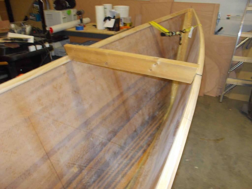 spreading the hull